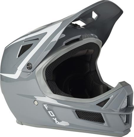 Fox Rampage Comp Repeat Helmet Men, pewter