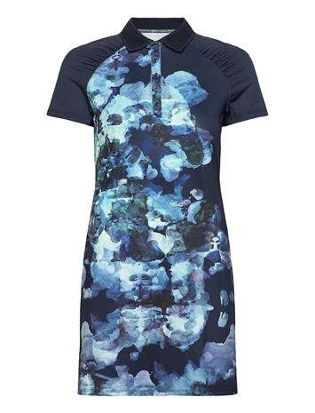 Röhnisch Pulse Dress Dresses T-shirt Dresses Sininen Röhnisch BLUE UTOPIA