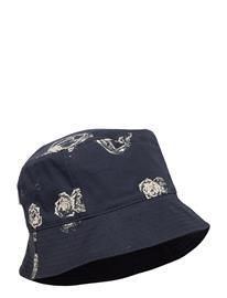 Wood Wood Graphic Bucket Hat Accessories Headwear Bucket Hats Sininen Wood Wood BLUE AOP