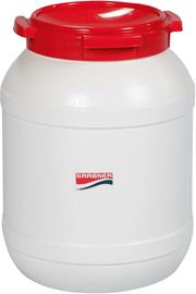Grabner Plastic Can 15l, white