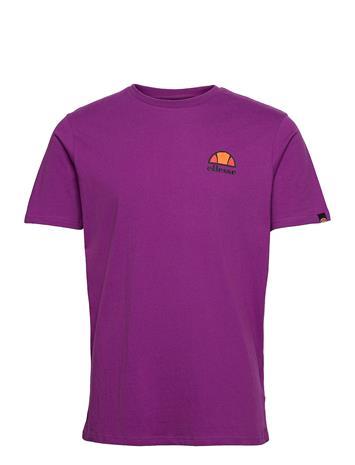 Ellesse El Canaletto Tee T-shirts Short-sleeved Liila Ellesse PURPLE