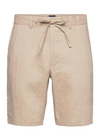 GANT D2. Relaxed Linen Ds Shorts Shorts Casual Beige GANT DRY SAND