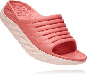 Hoka One One Ora Recovery Slide sisäkengät Naiset, lantana/pink salt