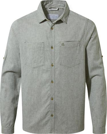 Craghoppers Villar Longsleeved Shirt Men, sage marl