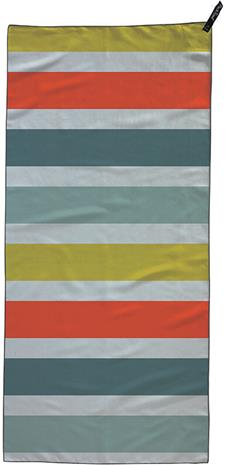 PackTowl Personal Beach Pyyhe, bold stripe