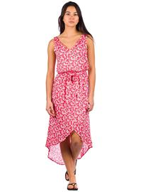 O'Neill Cali Dress red aop w / pink or purple Naiset