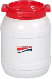 Grabner Plastic Can 6l, white