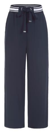 Luhta naisten väljät housut HULIPAS, tummansininen 46