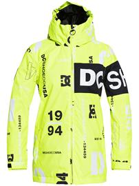DC Propaganda Jacket syndicate safety yellow Jätkät