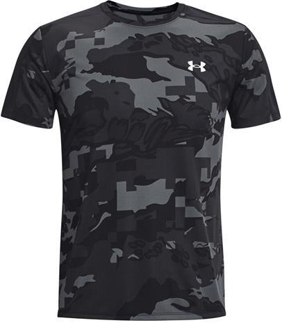 Under Armour Speed Stride Printed Short Sleeve Shirt Men, black-black