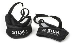 Silva EX-Pole Wrist Gloves Reflective, black/grey
