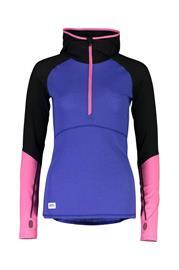Mons Royale Bella Tech Women's Hood Sininen / Pinkki XL