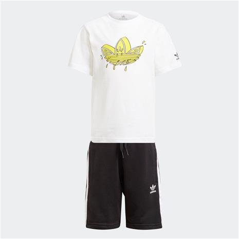 adidas Graphic Trefoil Shorts Tee Set