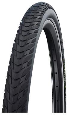 """SCHWALBE Marathon E-Plus Perform Clincher Tyre 28x2.15"""""""" Smart DualGuard E-50 Addix E Reflex, black"""