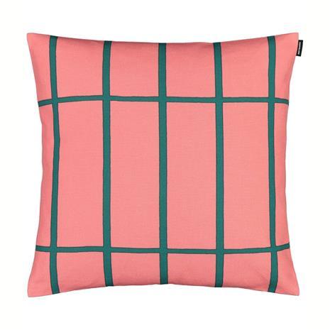 Marimekko Tiiliskivi tyynynpäällinen 45x45 cm Vaaleanpunainen-vihreä