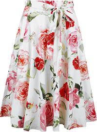 H&R London - Femke Swing Skirt - Pitkä hame - Naiset - Monivärinen