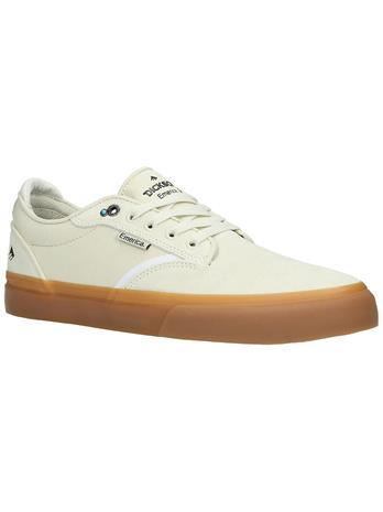 Emerica Dickson Skate Shoes white / gum