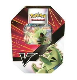 Pokemon V Strikers Summer 2021 Tin: Tyranitar V