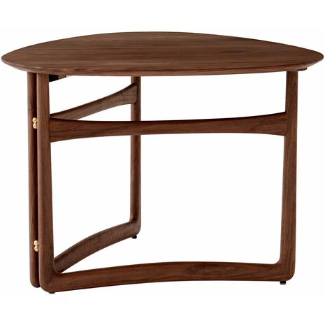 &Tradition &Tradition-Drop Leaf HM5 Coffee Table, Oiled Walnut