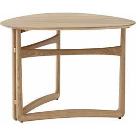 &Tradition &Tradition-Drop Leaf HM5 Coffee Table, White Oiled Oak