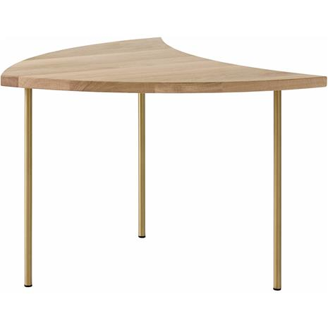 &Tradition &Tradition-Pinwheel HM7 Table, White Oiled Oak