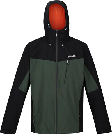 Regatta Birchdale Waterproof Shell Jacket Men, vihreä/musta
