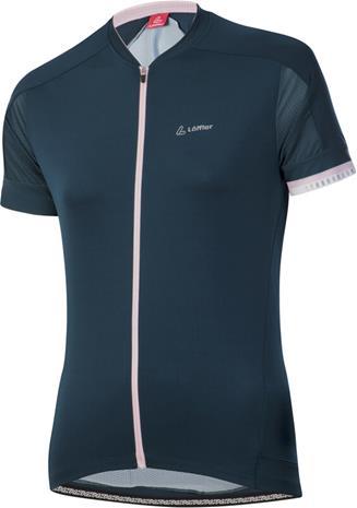Löffler Pure Full-Zip Bike Jersey Women, sininen