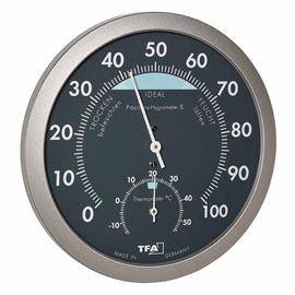 TFA 45.2043.51, analoginen lämpö/kosteusmittari