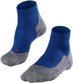 Falke RU4 Lyhyet Juoksusukat Miehet, harmaa/sininen, Miesten housut ja muut alaosat