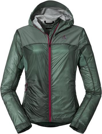 Schöffel Flow Trail Hybrid Jacket Women, vihreä