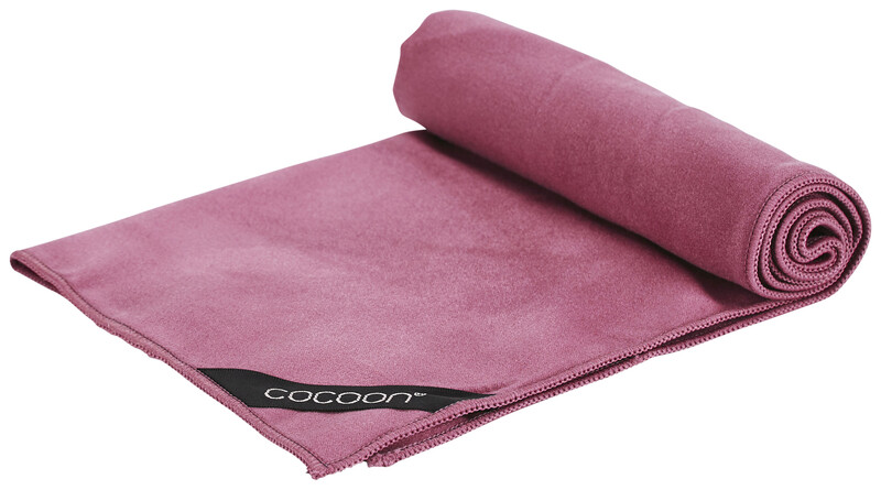 Cocoon Microfiber Towel Ultrakevyt Small, punainen