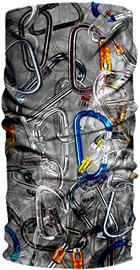 HAD Originals Lämpötuubi, harmaa/monivärinen, Miesten hatut, huivit ja asusteet