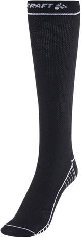 Craft Compression sukat, musta, Miesten alusvaatteet, sukat, pyjamat ja kylpytakit