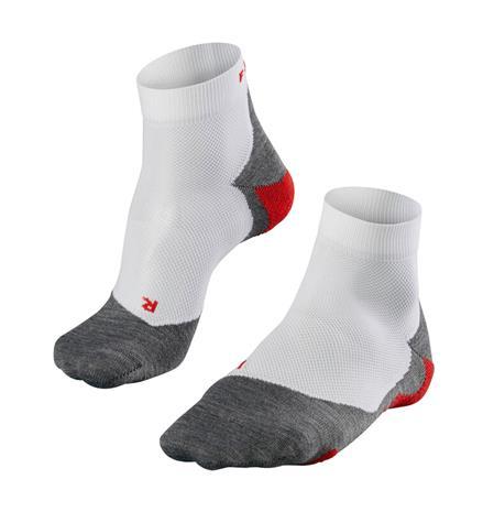 Falke RU 5 Lightweight Lyhyet Sukat Miehet, harmaa/valkoinen, Miesten housut ja muut alaosat