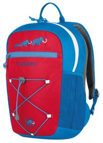 Mammut First Zip Päiväreppu 8l Lapset, punainen/sininen, Rinkat ja reput