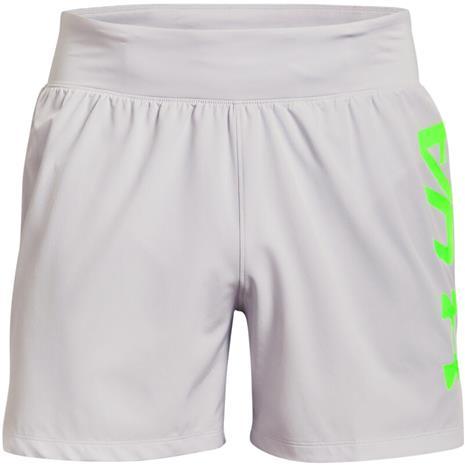 Under Armour Speedpocket 5'' Shorts Men, harmaa, Miesten housut ja shortsit