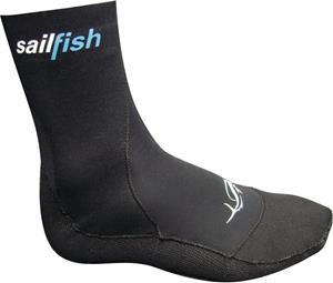 sailfish Neoprene Socks, musta, Uintitarvikkeet