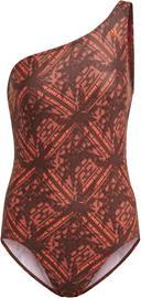 adidas SH3.RO Festivibes Swimsuit Women, oranssi/ruskea, Uintitarvikkeet