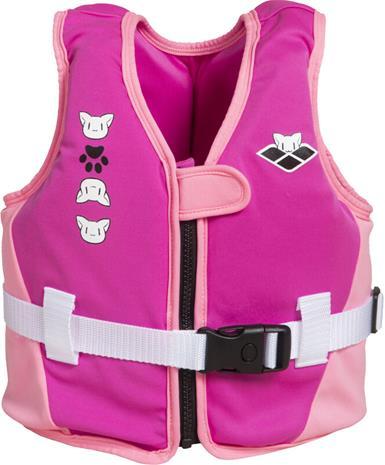 arena Friends Swim Vest Kids, vaaleanpunainen, Uintitarvikkeet