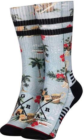 Loose Riders Technical Socks, musta/turkoosi, Miesten alusvaatteet, sukat, pyjamat ja kylpytakit