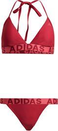 adidas Niskaan solmittavat nauhat Bikinit Naiset, punainen, Uintitarvikkeet