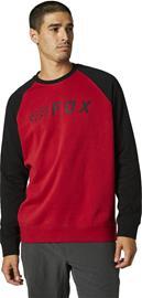 Fox Apex Pyöreäkauluksinen Fleece Pusero Miehet, punainen/musta, Miesten paidat, puserot ja neuleet