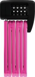 ABUS Bordo Lite Mini 6055C/60 Folding Lock, vaaleanpunainen