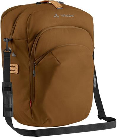 VAUDE eBack Single Pyörälaukku, ruskea, Kypärät, suojukset ja tarvikkeet