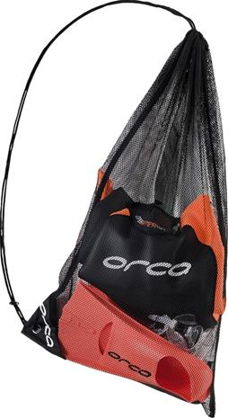 ORCA Swim Training Mesh Bag, musta, Uintitarvikkeet