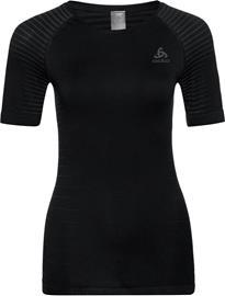 Odlo Performance Light Lyhythihainen Paita Pyöreäkauluksinen Naiset, musta, Naisten takit, paidat ja muut yläosat
