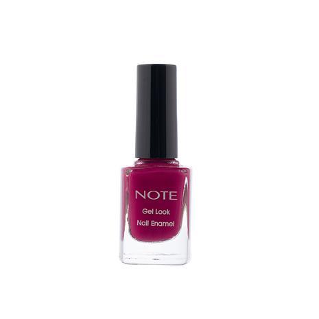 Note Cosmetics Gel Look Nail Enamel 10ml (Various Shades) - 10