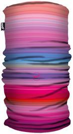 HAD Printed Fleece Lämpötuubi, vaaleanpunainen/monivärinen, Miesten hatut, huivit ja asusteet