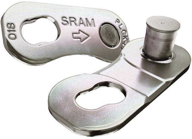 SRAM PowerLock Road Ketjulukko 12-vaihteinen 4 kpl, hopea