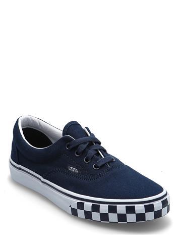 VANS Jn Era Matalavartiset Sneakerit Tennarit Sininen VANS (CHECK BUMPER)DRSBL/TRWHT